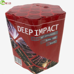 fireworks multi shot 19 shots Deep Impact uk