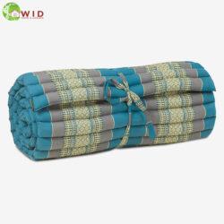Meditation roll mat small light blue