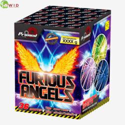 fireworks multi shot 36 shots furious angels uk