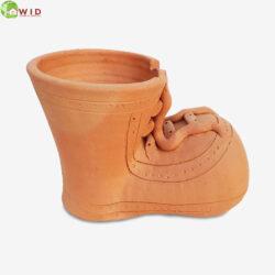 Funny boot garden pots, uk