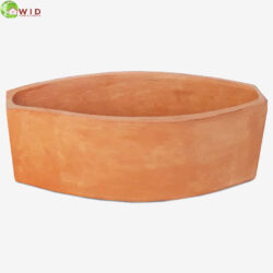 Terracotta pots large and small in the UK