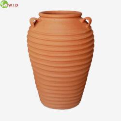 Terracotta vase, large, UK