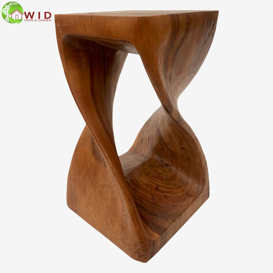 Medium Dark Twist Stool