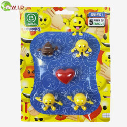 EMOJI FIGURE PACKS ASSORTED 5 pack