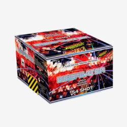 Beefeater firework multi shot cake 54 shots
