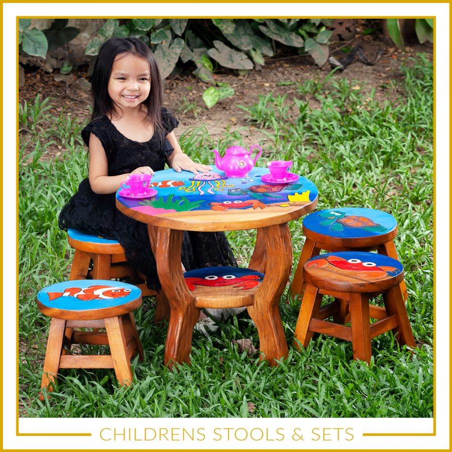 Children's stools and sets UK