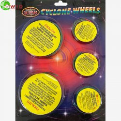 Cyclone Wheel 4 pack firework catherine wheel