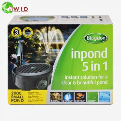 Inpond 2000 5 in 1 pump and filter