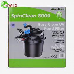 Spin clean 8000 uv pond filter