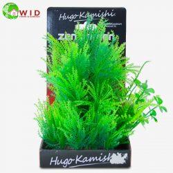 Plastic green fern