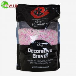 Decortive Gravel pink and white