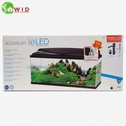 Aquarium 80 LED complete aquarium set up