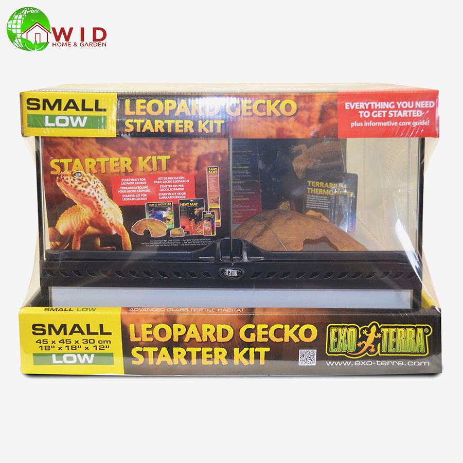 exo terra Leopard Gecko Small Low starter Kit