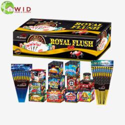 firework selection box royal flush pack 32