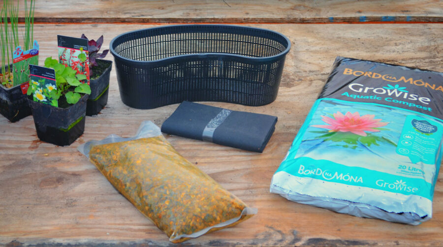 What you need for a good cold water pond basket. uk