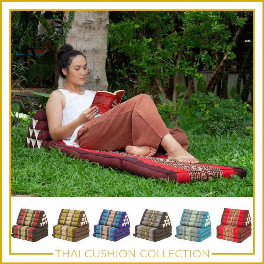 Thai cushions collection