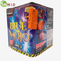firework multi shot blue 25 shots uk