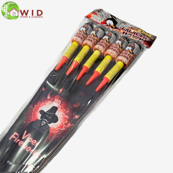 firework Galactic Hawk rocket pack x 5 UK