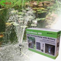 Solar shower pump 800, UK