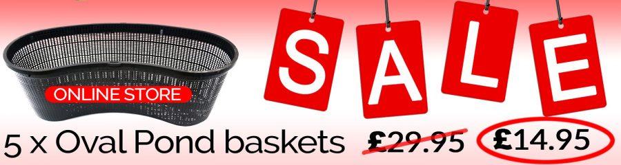 Pond basket sale. UK