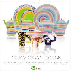 Ceramic's, tableware, mugs, plates etc
