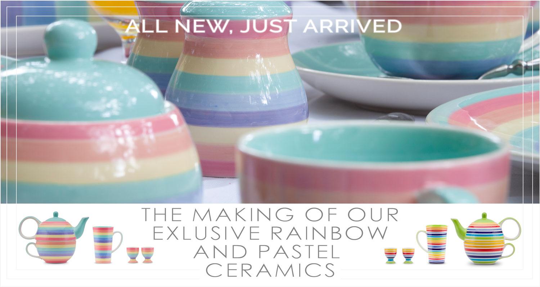 Exclusive tableware from Waterways Garden Centre, UK