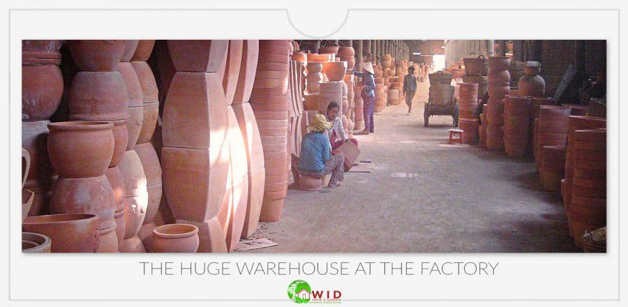 Garden pot warehouse