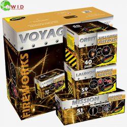 fireworks Voyager Triple Pack display