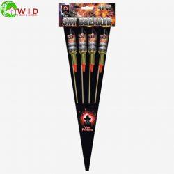 sky breaker rocket firework pack