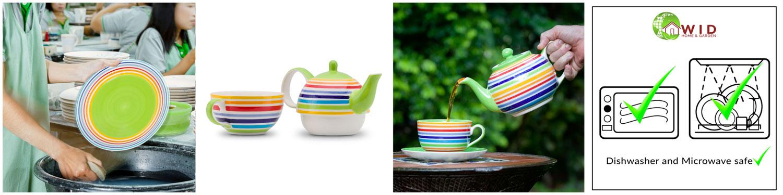 Exclusive Rainbow ceramics